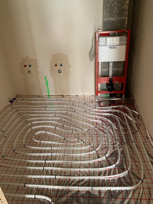Pompa ciepła Saunier Duval - Ogrzewanie podłogowe